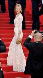 Eva Herzigova Cannes Film Festival