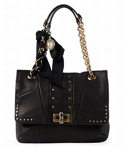 LANVIN Happy Studded Shoulder Bag