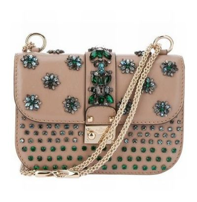 VALENTINO Jewel Embellished Clutch