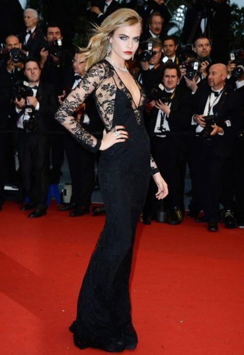 Cara Delevingne Cannes Film Festival 2013