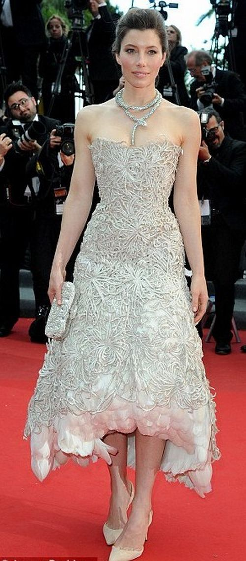 Jessica Biel Cannes Film Festival 2013. abc