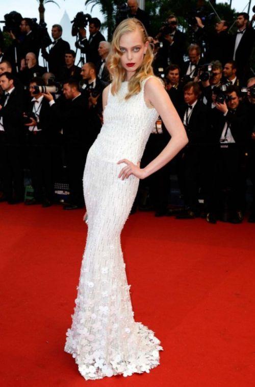 Tanya Dziahileva Cannes Film Festival 2013