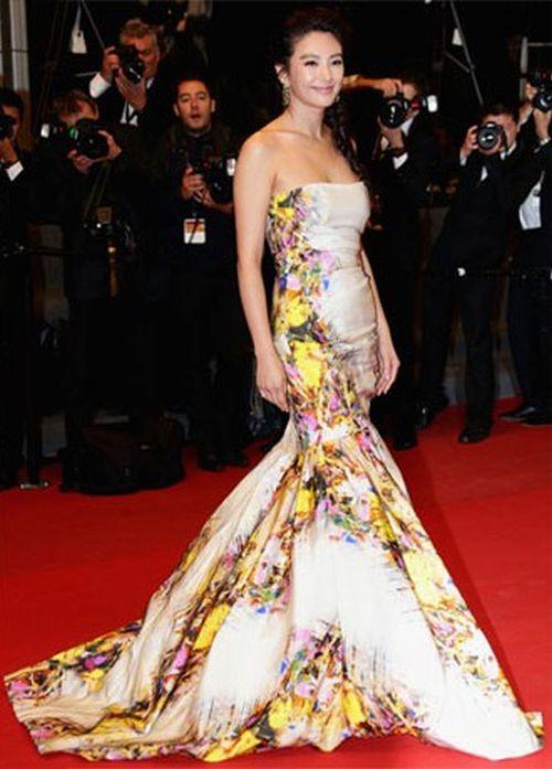 Zhang Yuqi Cannes Film Festival 2013 a
